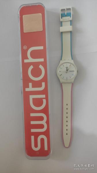 斯沃琪SWATCH  边缘线系列手表石英手表  成色很好 正常使用