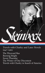 预售约翰·斯坦贝克美国图书馆线装本小说集1947–1962 John Steinbeck: Travels with Charley and Later Novels 1947–1962