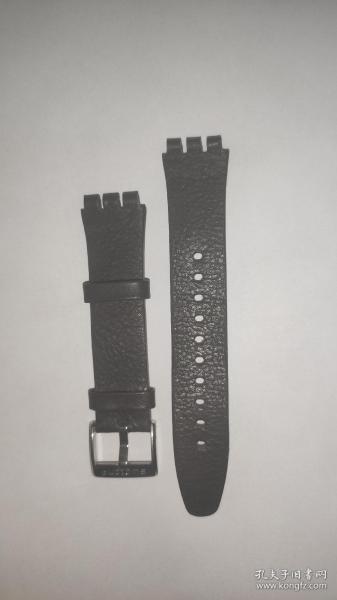 斯沃琪SWATCH原装表带  真皮表带  全新  17mm  通用