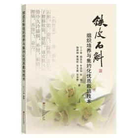 中药材石斛种植技术书籍 铁皮石斛组织培养与集约化优质栽培技术