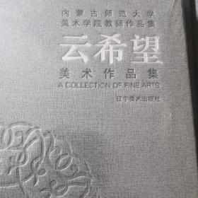 内蒙古师范大学美术学院教师作品集(云希望)没开封(精)