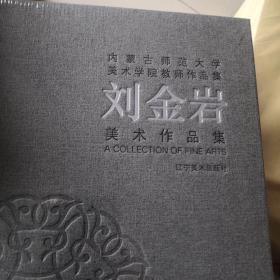 内蒙古师范大学美术学院教师作品集(刘金岩)(精)