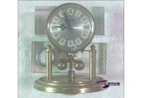 S. Haller Simonswald  Jewels Clock —— 德国哈勒自鸣座钟 (直径12cm ×高14cm /  纯铜材质自重01公斤  / 不保证正品 一经出售概不退换) 【1950年代  表罩缺失表芯套件 私藏01件整售】