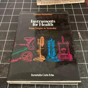 Instruments for Health--英文精装