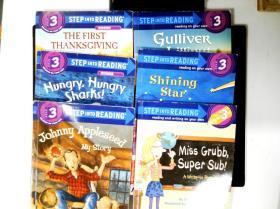 美国兰登分级读物 Step into Reading 3第三阶段   6本合售