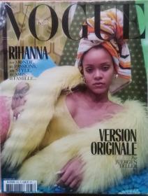 Vogue Paris 2017.12-2018.1合刊 Rihanna 时尚杂志 单一封面