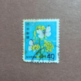 日本邮票花4