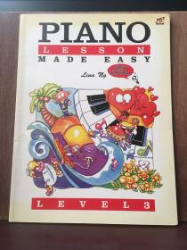 Piano Lessons Made Easy: Level 3