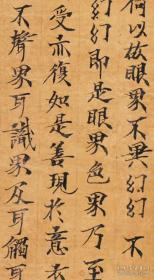 敦煌遗书写经海外馆藏1421大般若波罗蜜多经卷第四十二。微喷印刷定制,概不退换。