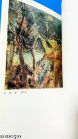 图录 真鹤町立 中川一政美术馆Ⅱ 1992年 油彩 陶器 书法 岩彩 等50幅图版 大16开软皮 0.72公斤