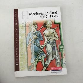 【外文原版】 Medieval England 1042-1228 中世纪英格兰1042-1228