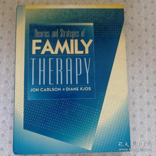 Theories and Strategies of Family Therapy   Jon Carlson  英语原版精装