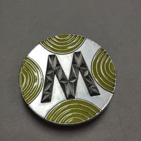 皮带扣 合金材料直径70毫米
