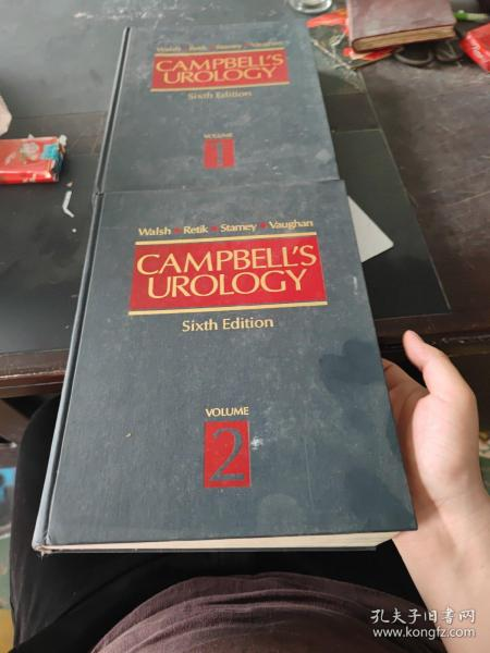 campbell's urology sixth edition volume 1.2