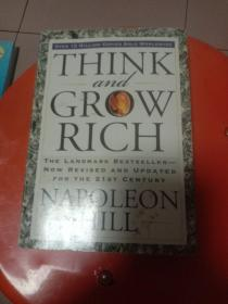 Think and Grow Rich:The Landmark Bestseller--Now Revised and Updated for the 21st Century 毛边书