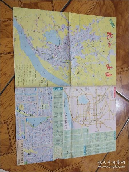 杭州交通,西湖游览图