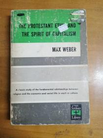 英文原版:MAX WEBER THE PROTESTANT ETHIC