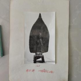 文物机构流出,老照片,北魏佛造像