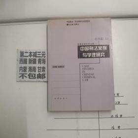 中国刑法案例与学理研究  总则篇(上)