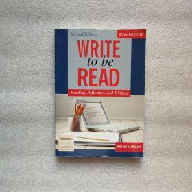 WritetoBeReadStudent'sBook:Reading,Reflection,andWriting