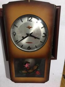 文革时期,金杯牌,挂钟,按配件出售。