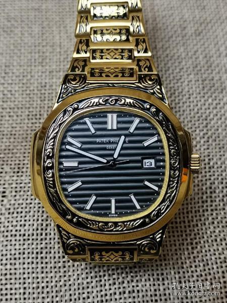 机械表 百达翡丽腕表  精钢镀金仿古 老干部家属院老友会让 精致完美 自己没时间带 转让出售