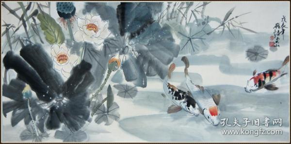 【招务超】广东省南海县人。中国美术家协会广东分会会员 花卉