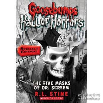 【进口原版】Goosebumps Hall of Horrors #3: The Five Mask...