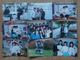 《同学》彩色照片9张 高12.5厘米 宽8.5厘米(m78)