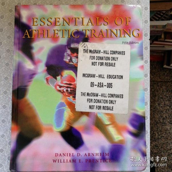 Essentials of Athletic Training  Fifth Edition  Daniel D.  Arnheim 英语原版精装