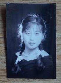 艺术照片《美少女》高12.5厘米 宽8.5厘米(m78)