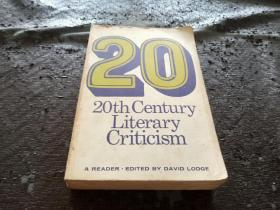 20th Century Literary Criticism