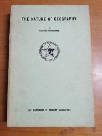 英文原版:THE NATURE  OF GEOGRAPHY
