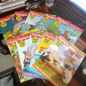 Highlights for children 儿童读物杂志 2016/10册合售 原版外文杂志期刊