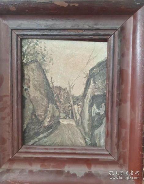 风景油画作品d