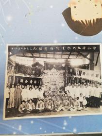 70年代广东祭堂前摄影