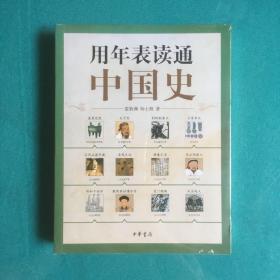 用年表读通中国史(塑封全新未开)