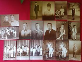 原况散页老相册发布第70---约五十至七十年代南洋菲律宾马尼拉华侨或港胞家庭私藏珍贵散页单身及合影7寸照片共17张黑白老照片、老相片、老像片、老资料、老档案、老影集