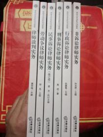 刑事诉讼律师实务初级教程6册