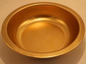 超大型铜器铜盆直径36厘米