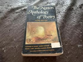 The Norton Anthology of Poetry THIRD EDITION 英文原版书