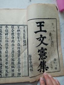 王文宪文集