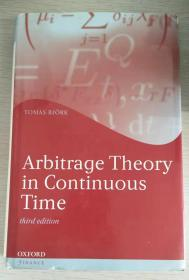 Arbitrage Theory in Continuous Time third edition 连续时间套利理论第三版   精装!原版