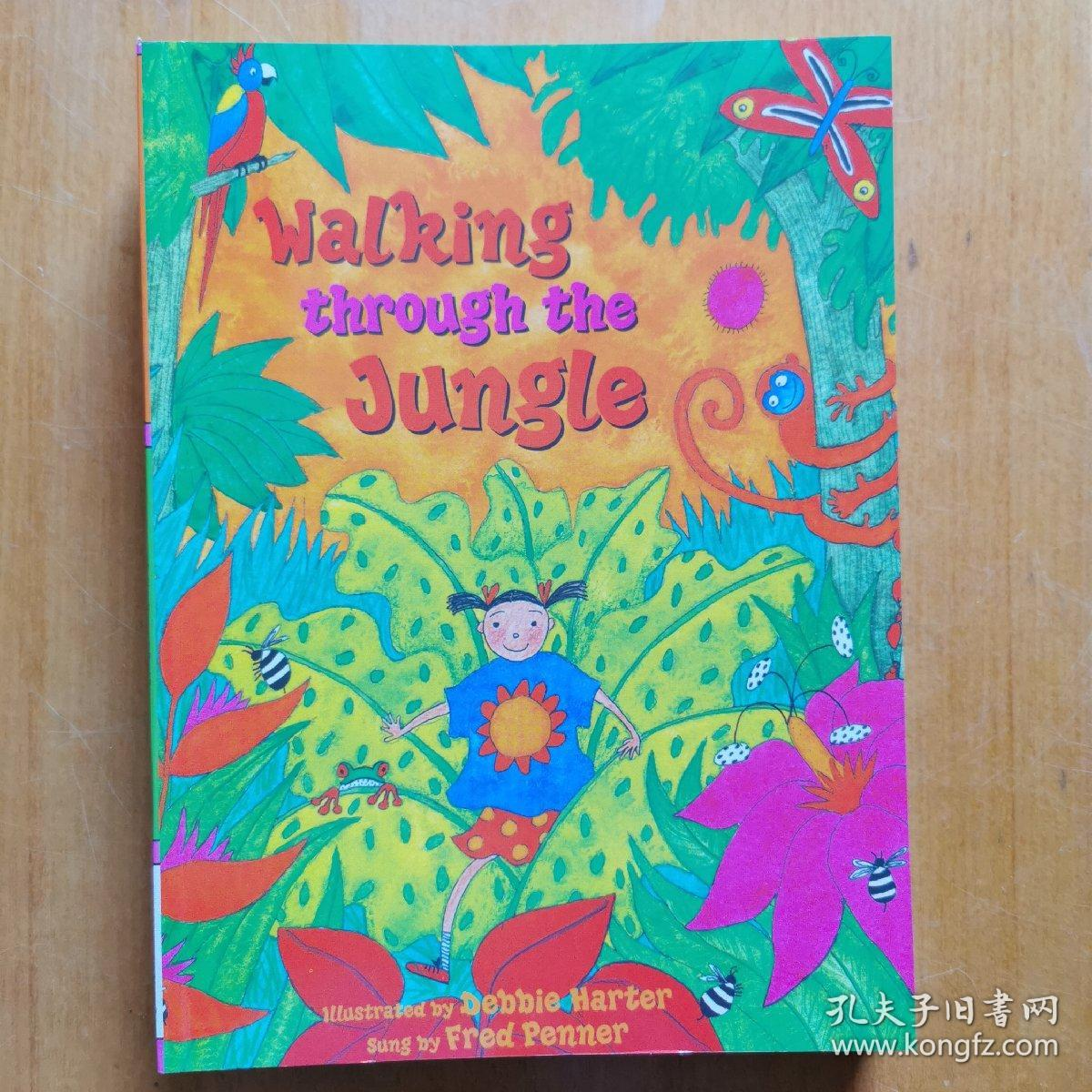 Walking Through the JungleBook+CD穿越丛林