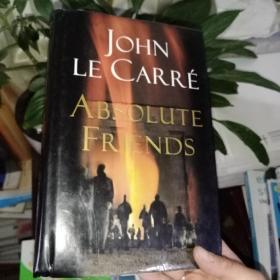 JOHN  LE CARRE  ABSOLUTE  FRIENDS