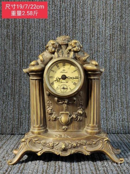 回流纯铜老机械表 上弦调时正常,走时精准,工艺精湛,高贵典雅,成色品相如图!!