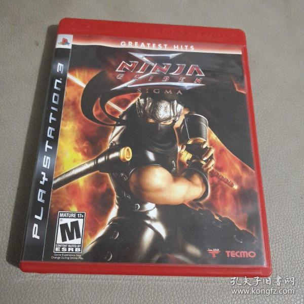 光盘:ninja gaiden 3 (光盘、手册、)