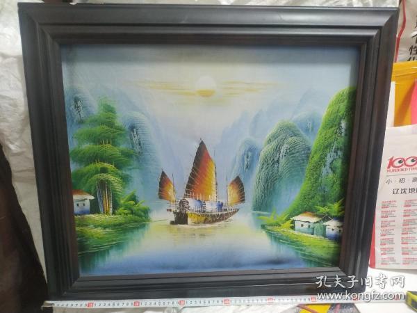 帆船,风景