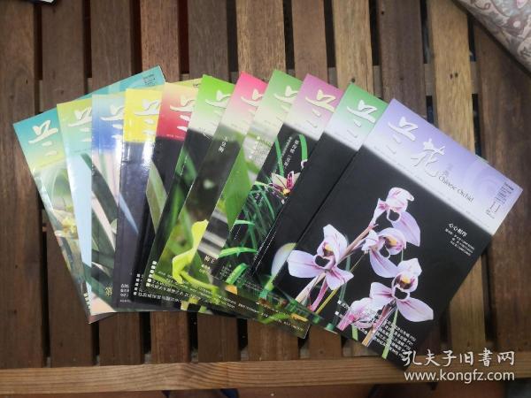 《兰花宝典》2005年(1一11)含创刊号
