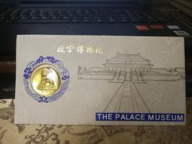 故宫博物院纪念章卡   从背后说明是看到从建成已有560年,推算是1980年左右的纪念品,品相很好带原塑料封套具体看图